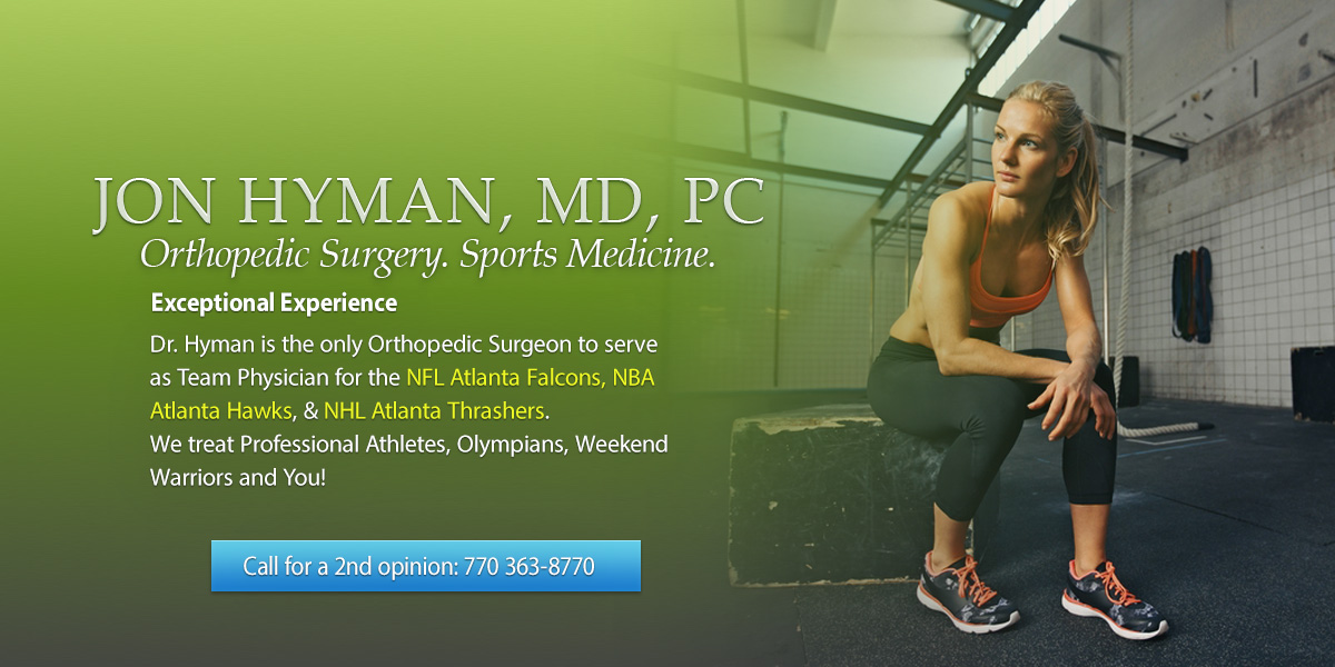 Hip Arthroscopy Doctor Dr  Jon Hyman, a board-certified